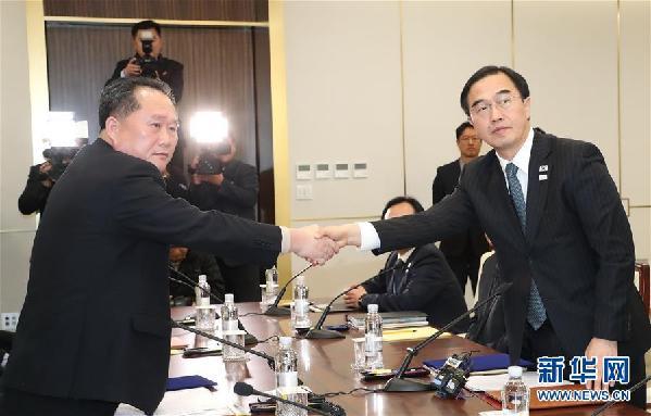 (国际)(1)韩朝高级别会谈结束 就多个事项达成一致