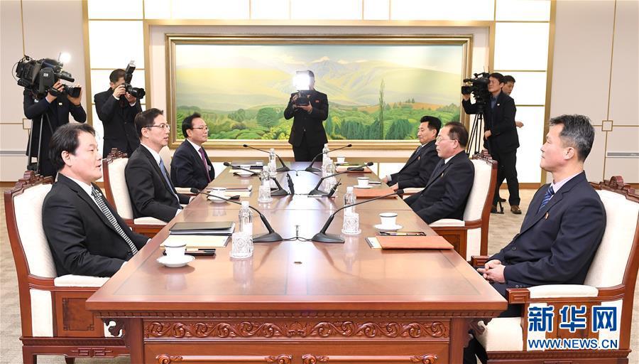 朝韩就朝方参加平昌冬奥会多项事宜达成一致