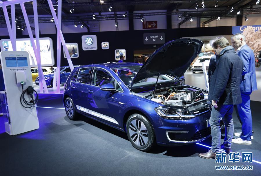 (國際)(1)布魯塞爾車展上的電動車