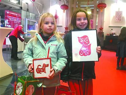 """上海艺术团让欧洲人感受""""中国年""""九幽神官"""