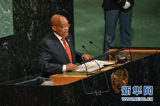 (国际)(2)南非总统祖马宣布辞职