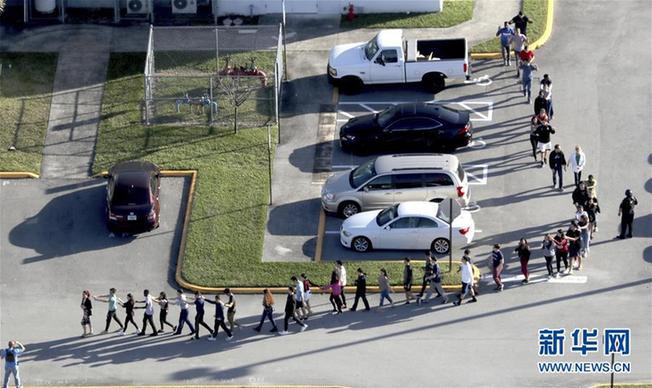 (國際)(2)美國佛羅裏達州一高中發生槍擊案
