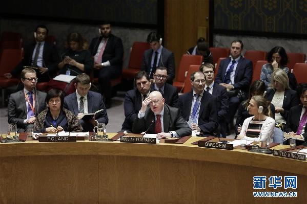 安理会一致通过叙利亚全境停火决议