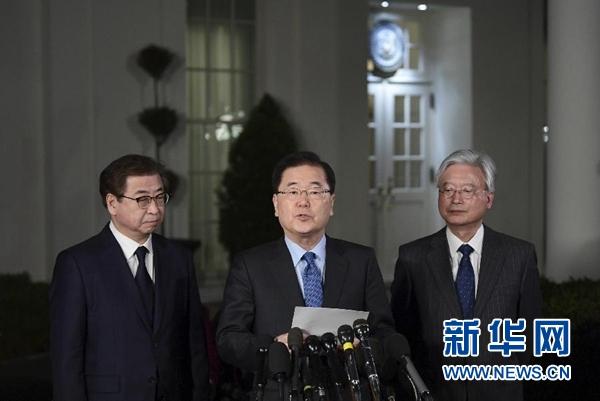 韩国官员说特朗普同意在5月之前与金正恩会面
