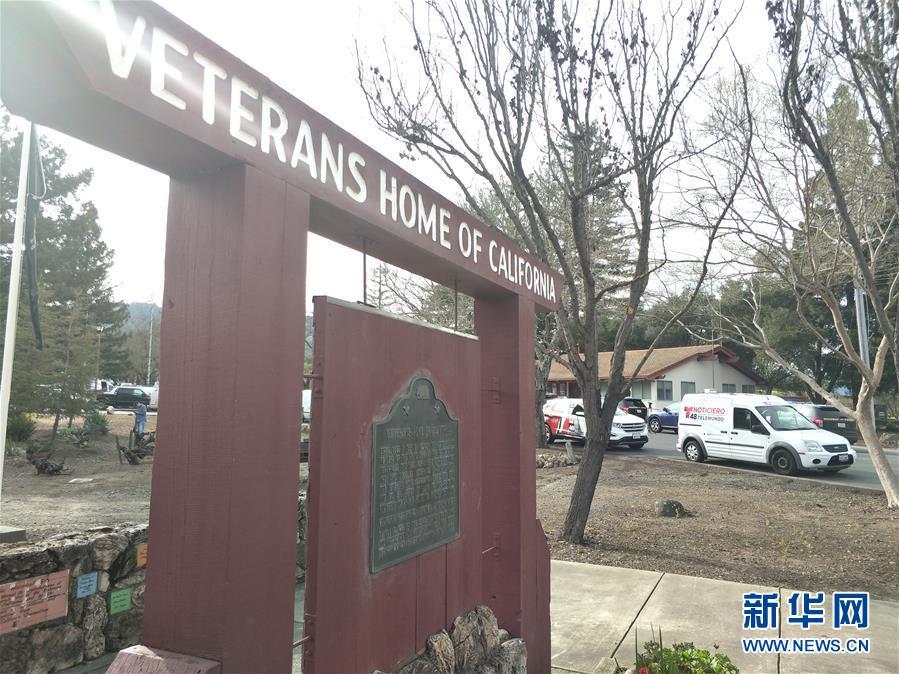(國際)(1)美國加州一退伍軍人之家發生槍擊事件3人被扣為人質