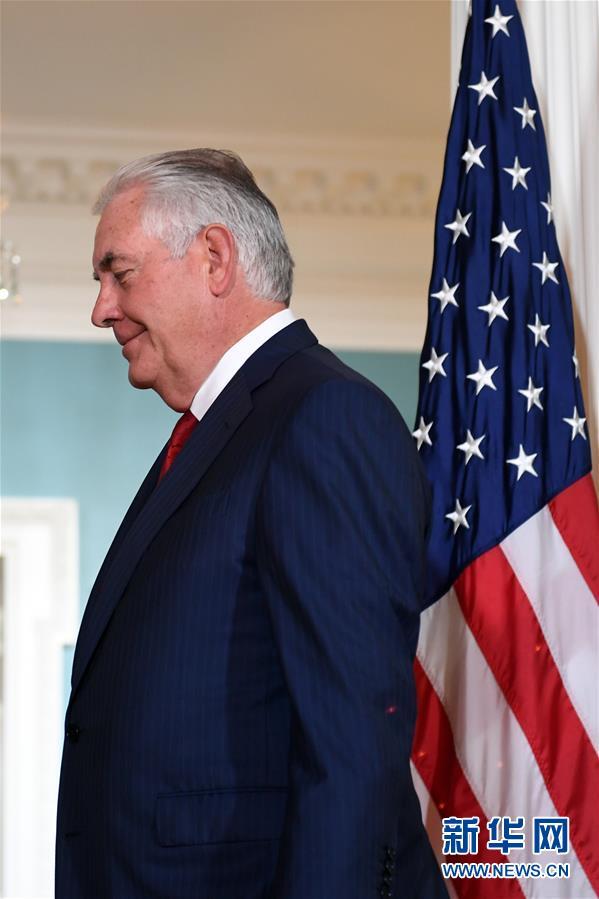 (國際)(1)特朗普宣布更換美國國務卿