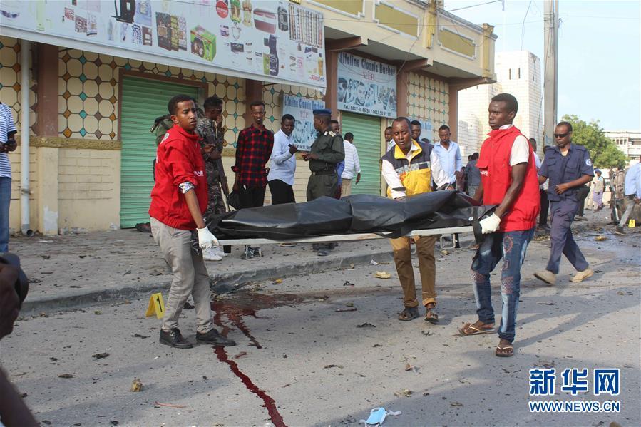 (國際)(1)索馬裏首都發生汽車炸彈襲擊至少5人死亡