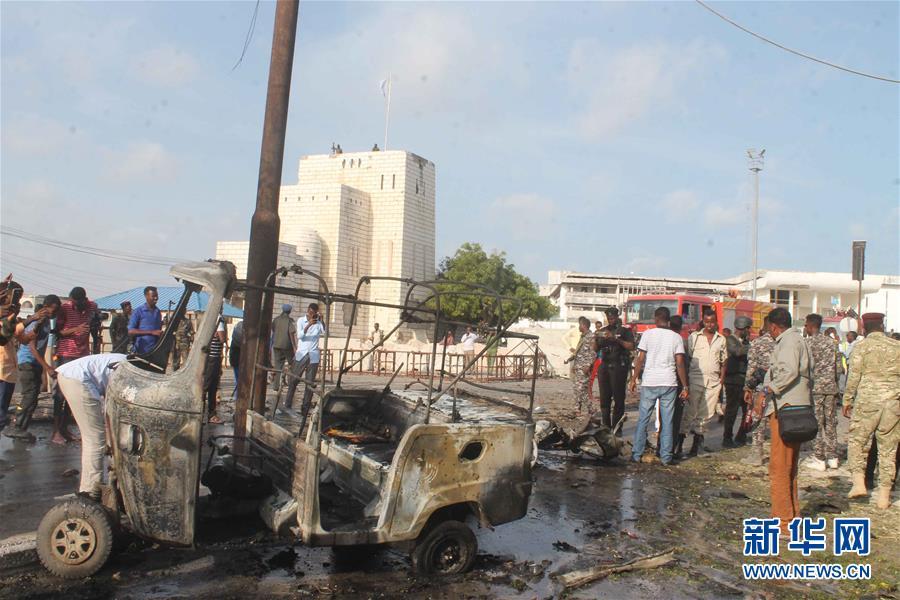 (國際)(3)索馬裏首都發生汽車炸彈襲擊至少5人死亡