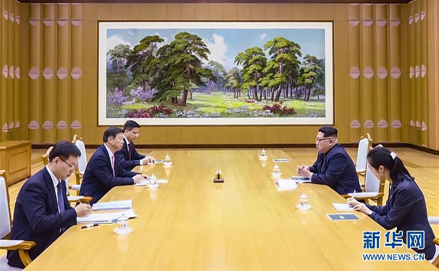 (新华网)金正恩会见中联部部长、中国艺术团团长宋涛