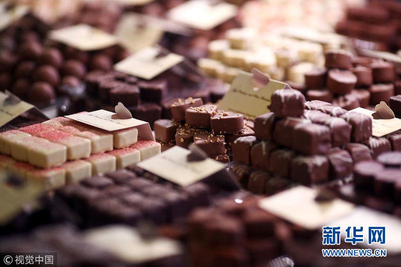 走进德国巧克力工厂 生产过程让人垂涎