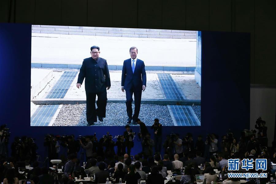 新华社拍摄的朝鲜画面