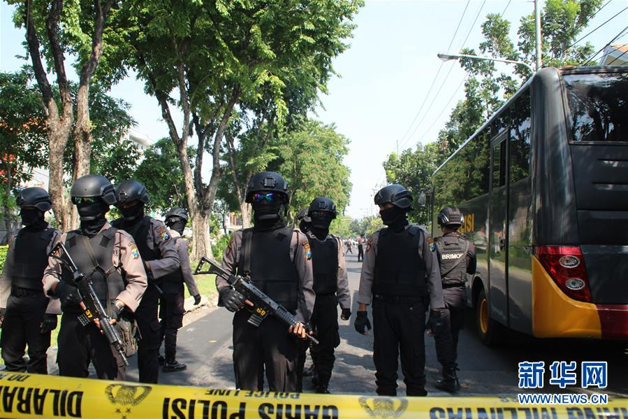 (国际)(1)印尼东爪哇省发生爆炸