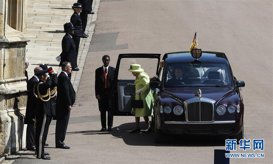 (国际)(2)英国哈里王子与梅根·马克尔在温莎城堡举行婚礼
