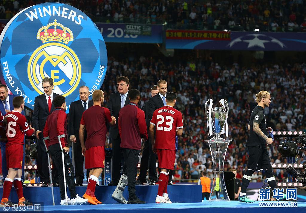 17\/18赛季欧冠决赛:皇家马德里Vs利物浦