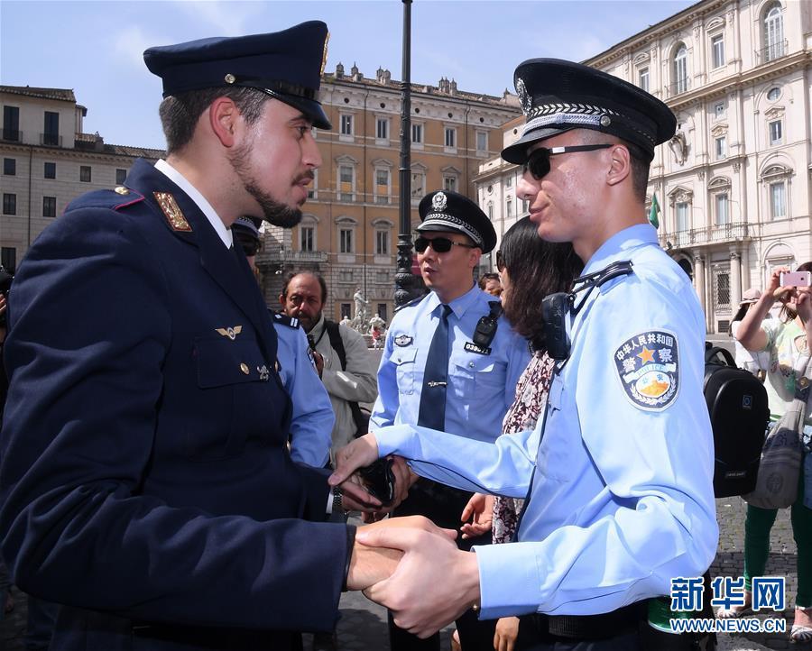 (国际)(3)中意警方启动第三次在意联合巡逻