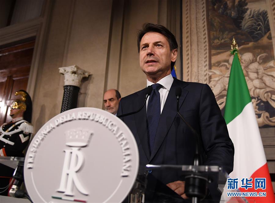 (国际)(1)孔特被再次任命为意大利候任总理