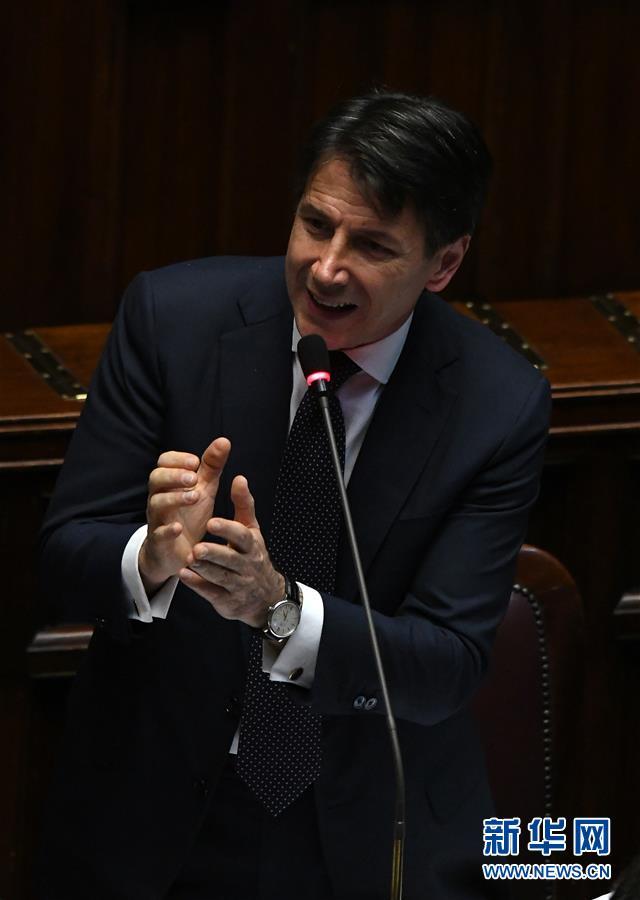 (國際)(3)意大利新政府贏得議會兩院信任投票