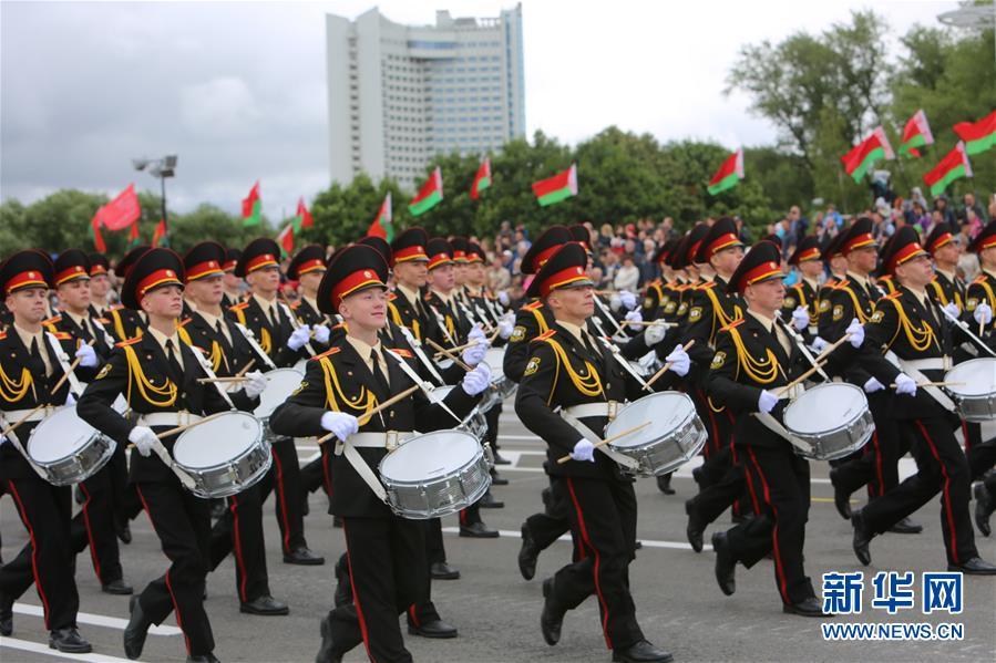 (国际)(4)白俄罗斯举行独立日阅兵式 解放军仪仗队首次应邀参加