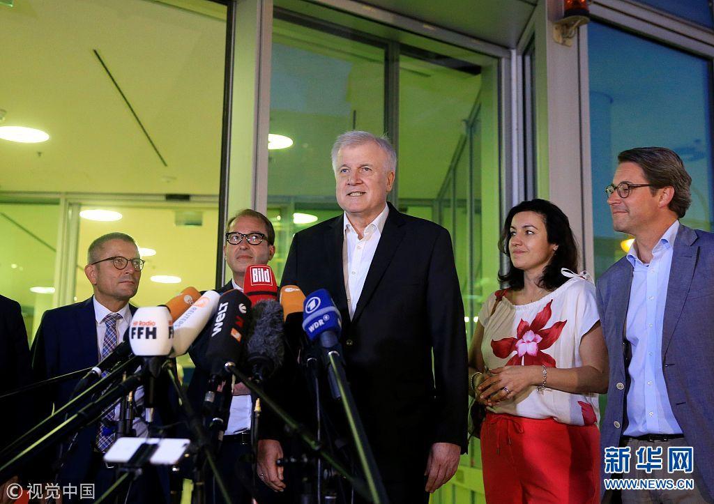 德国基民盟和基社盟就防备合法移民题目告竣协议