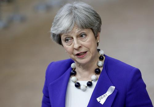 """英首相闺蜜""""搞事情"""" 提议二次脱欧公投"""