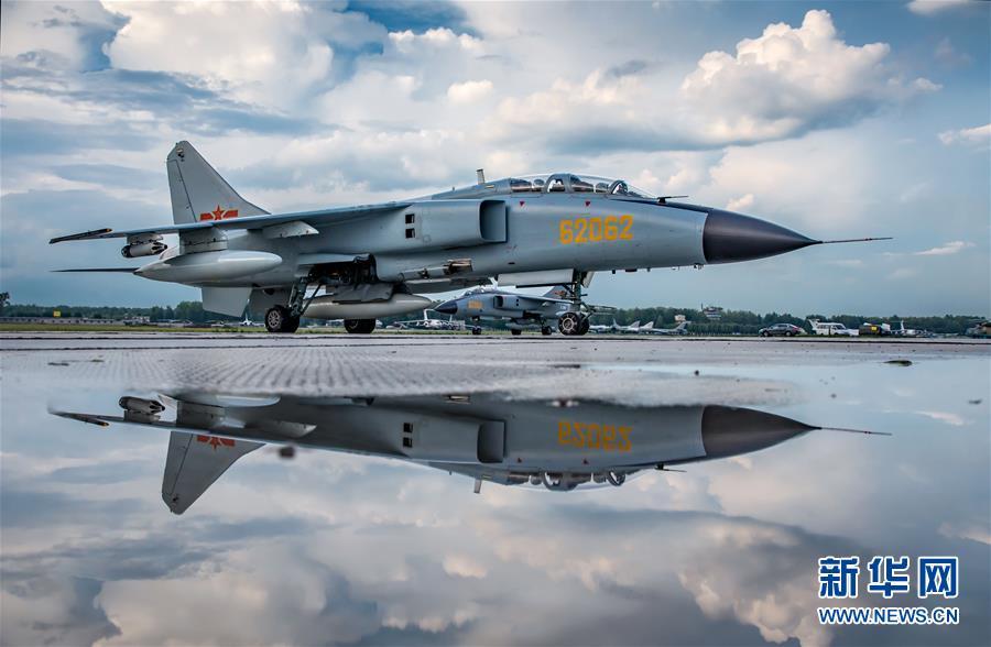 """(国际·图文互动)(4)中国空军参加""""国际军事比赛-2018""""的五型战机和空降兵分队抵达俄罗斯"""