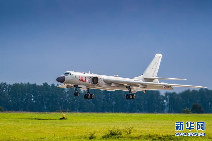 """(国际·图文互动)(3)中国空军参加""""国际军事比赛-2018""""的五型战机和空降兵分队抵达俄罗斯"""