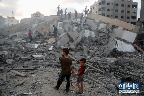 以色列战机继续轰炸加沙地带致18名巴勒斯坦人受伤