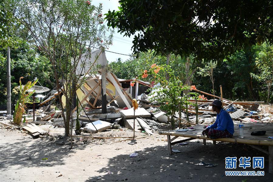 (國際)(1)印尼龍目島再遇強震