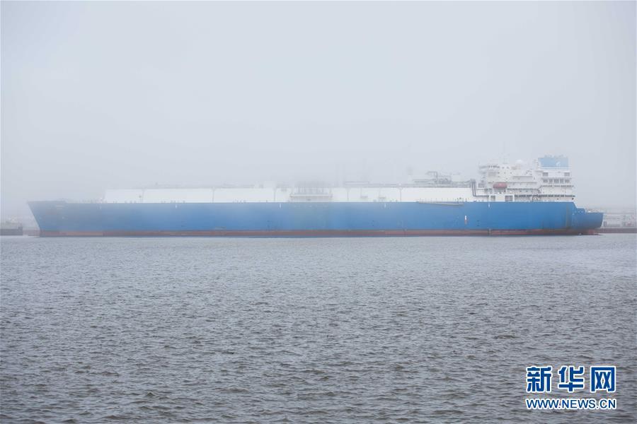 中俄亚马尔项目第二条生产线液化气首次装船