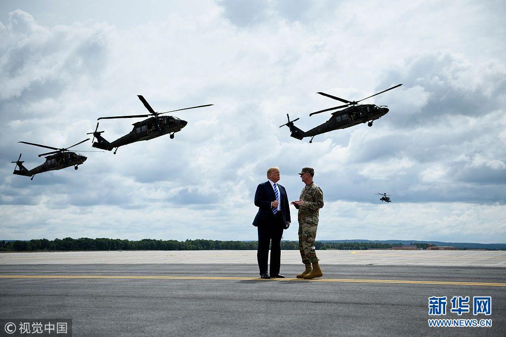 特朗普签署国防授权法案:军费创9年来最大增幅(组图)