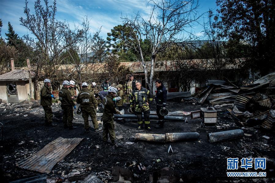 (國際)(1)智利一養老院失火造成10人遇難
