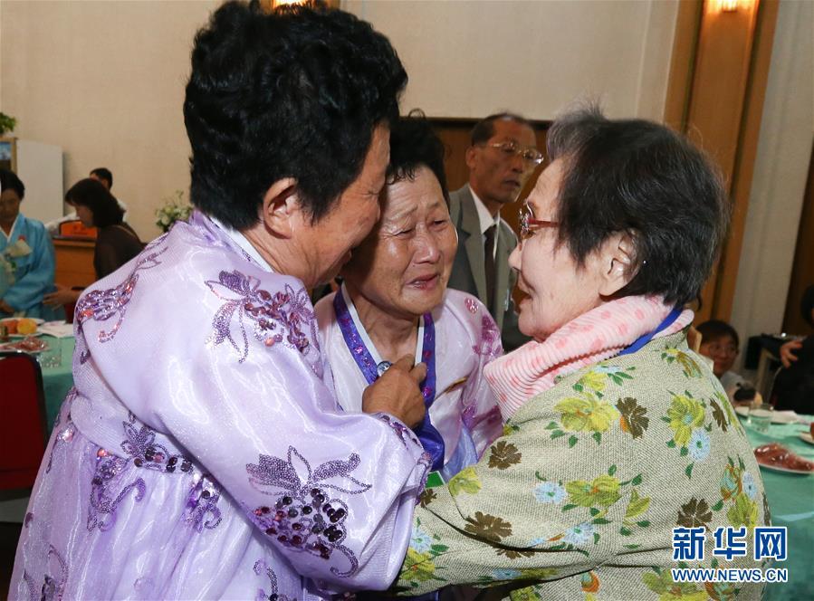 (國際)(2)朝韓離散家屬再團聚