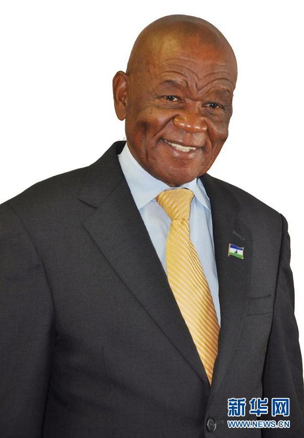 新闻人物:莱索托王国首相塔巴内