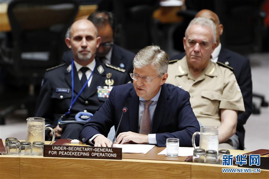 (國際)(2)聯合國副秘書長敦促會員國支持聯合國維和行動