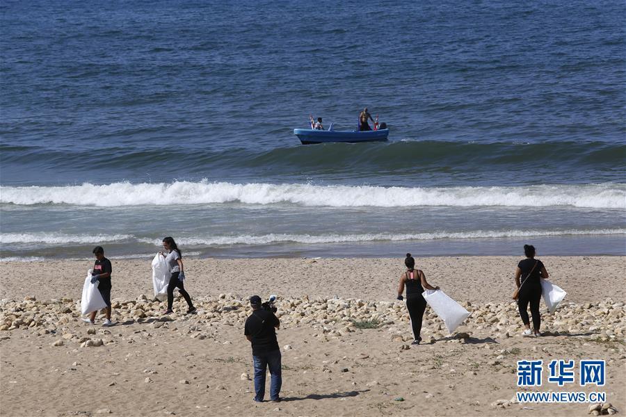 (國際)(1)黎巴嫩:清理海灘垃圾 保護海洋環境