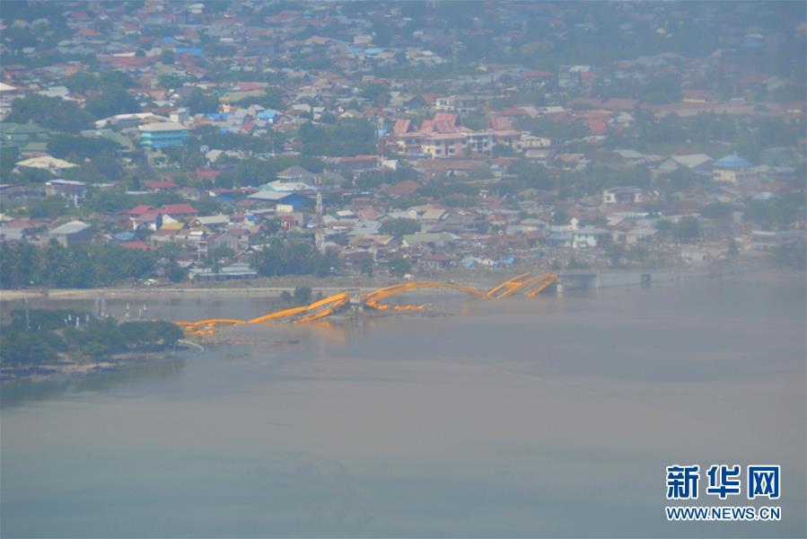 (国际)(2)印尼中苏拉威西省强震及海啸死亡人数升至384人