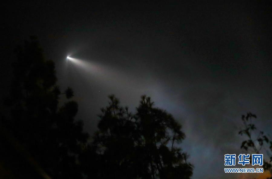 """(國際)(1)""""獵鷹9""""火箭成功發射阿根廷衛星"""
