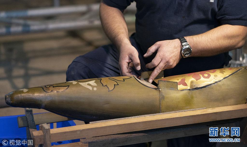 英国古老管风琴迎来百年首次维修