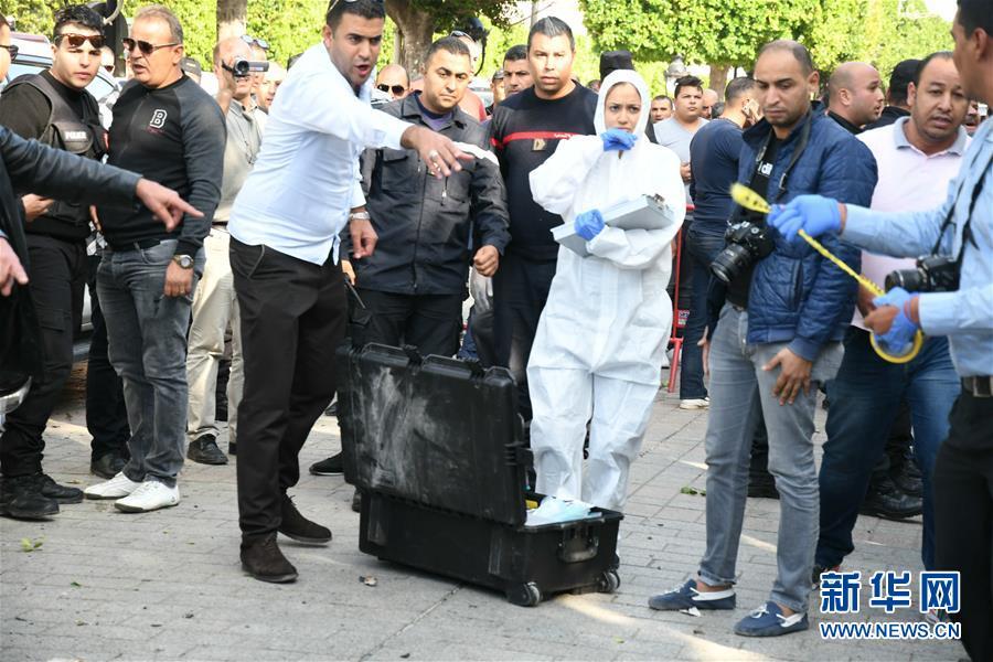 (國際)(1)突尼斯首都自殺式爆炸襲擊致1死9傷