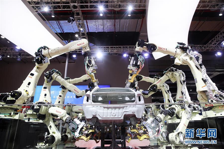 (聚焦进口博览会)(1)智能及高端装备展区精彩纷呈