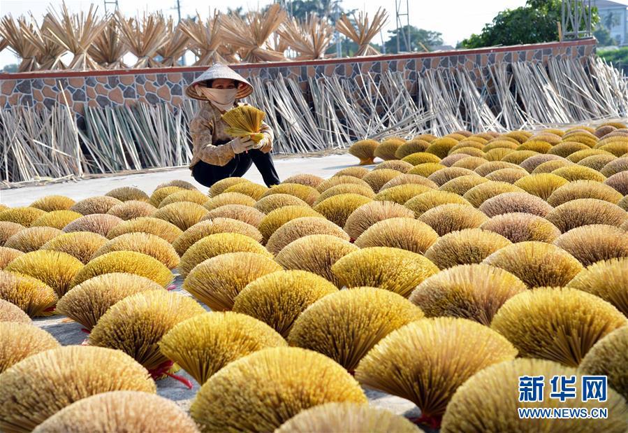 (国际)(1)越南河内的特色编制村