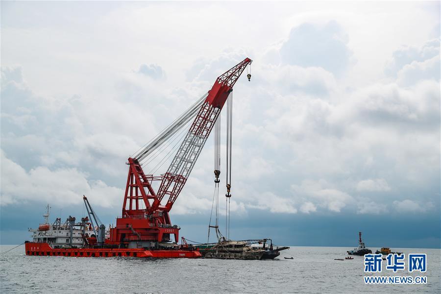 """(國際)(3)泰國將封鎖打撈上岸的""""鳳凰""""號以開展調查"""