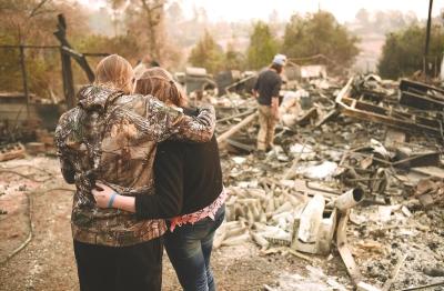 加州百年大火下几位平民英雄和他们的感人故事