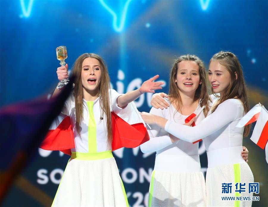 (國際)(1)13歲波蘭女孩獲歐洲少兒電視歌唱大賽冠軍