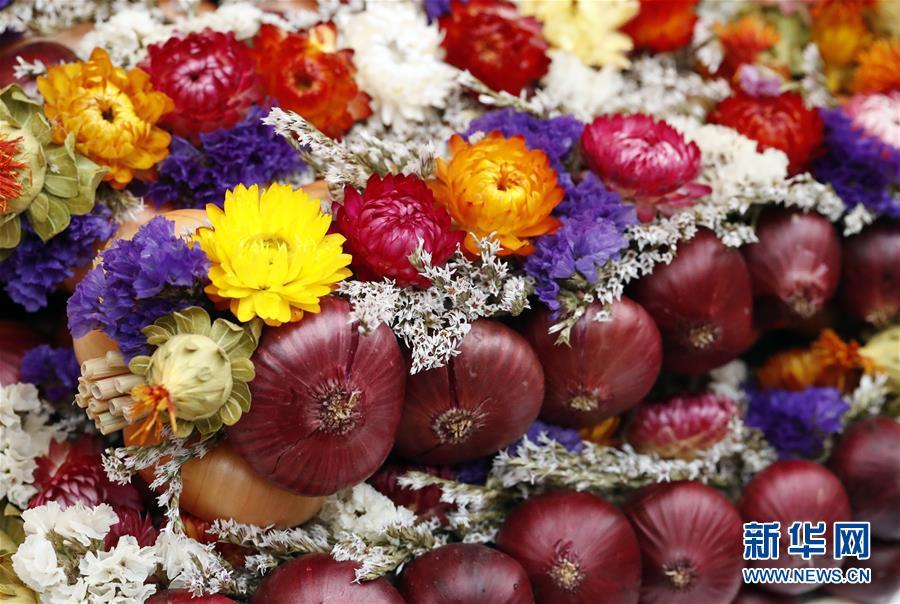 (國際)(4)瑞士伯爾尼舉辦一年一度洋蔥節