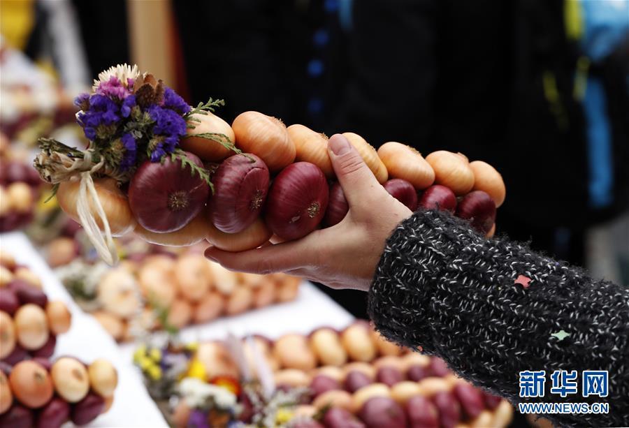 (國際)(6)瑞士伯爾尼舉辦一年一度洋蔥節
