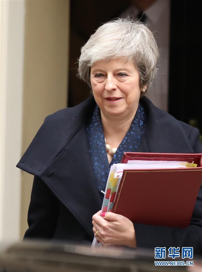 (國際)(1)英國首相特雷莎·梅面臨黨內不信任投票