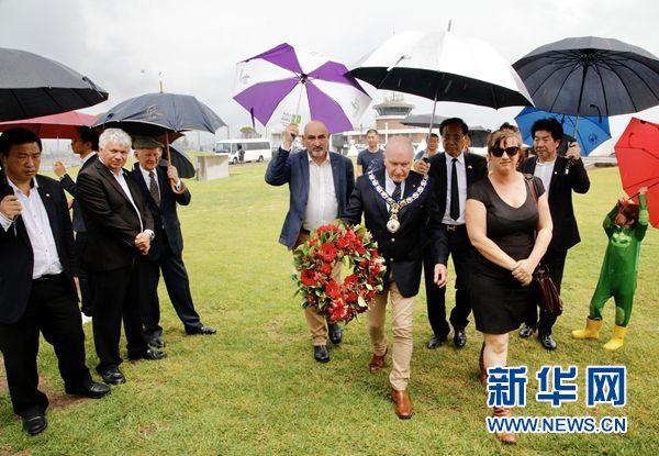 澳大利亚卧龙岗市祭奠南京大屠杀死难者