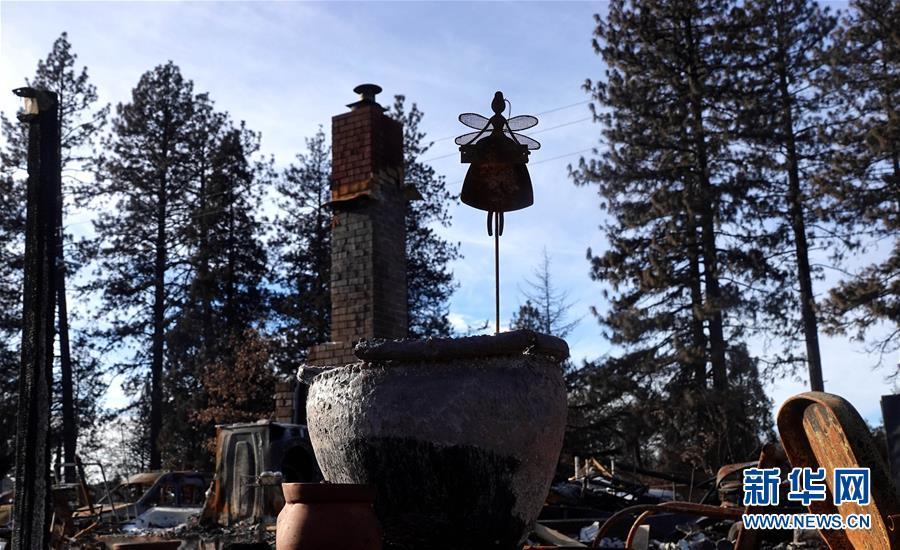 (國際·圖文互動)(2)一場山火,讓這個冬天格外冷——探訪美國加州山火災區