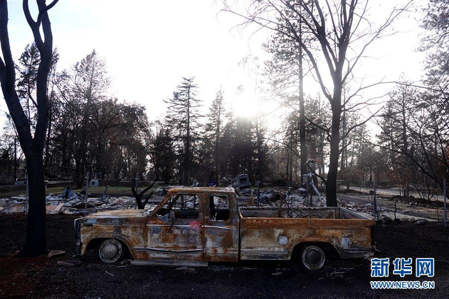 (國際·圖文互動)(7)一場山火,讓這個冬天格外冷——探訪美國加州山火災區